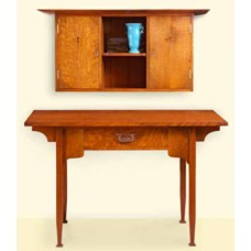 Arts and Crafts Desk and Wall Cabinet (Digital Plan)