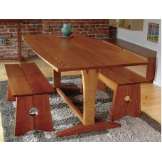 Contemporary Trestle Table (Digital Plan)