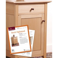 Beech Nightstand (Digital Plan)