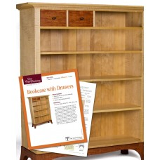 Bookcase with Drawers (Digital Project Plan)