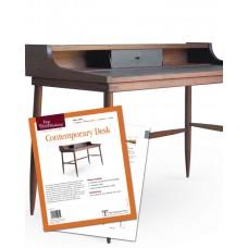 Contemporary Desk (Digital Plan)