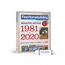 2020 Fine Homebuilding Archive (USB)