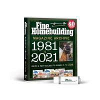 2021 Fine Homebuilding Archive (USB)