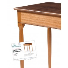 End Table with Carved Accents (Digital Plan)