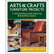 Arts & Crafts Furniture Projects (Paperback)