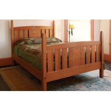 Fine Woodworking's Stickley-Inspired Bed Plan (Digital Project Plan)