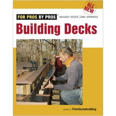 All New Building Decks (Paperback)
