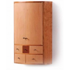 Bowfront Wall Cabinet (Digital Plan)