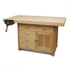 Basic Workbench with Built-In Storage (Digital Plan)