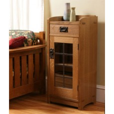 Arts & Crafts Glass Front Cabinet (Digital Plan)