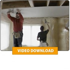 Drywall: Hanging and Taping Video Download (Video Download)