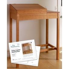 Shaker-Inspired Standing Desk (Digital Plan)