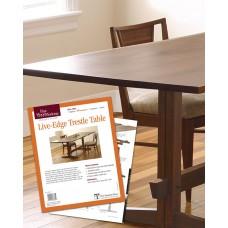 Live-Edge Trestle Table (Digital Project Plan)